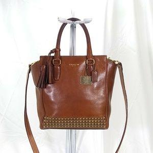 Coach Leather Handbag Crossbody